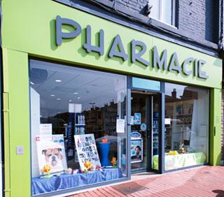 Pharmacie du p'tit Belgique - Façade