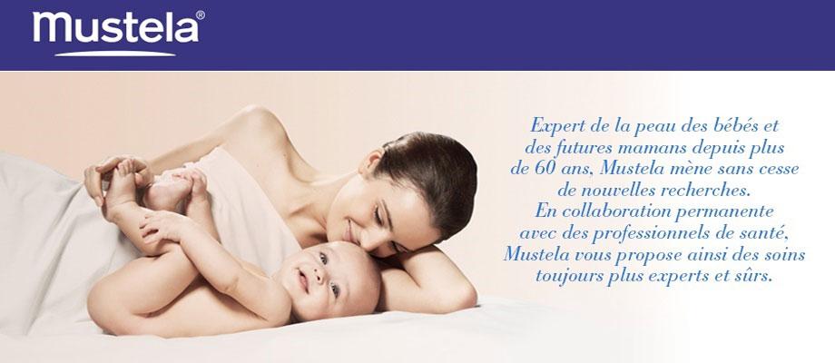 Expert de la peau des bébés et des futures mamans