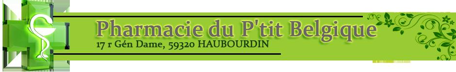 Pharmacie du P'tit Belgique